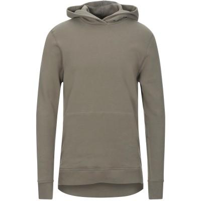 JOHN ELLIOTT スウェットシャツ ミリタリーグリーン 1 コットン 100% / ポリウレタン スウェットシャツ