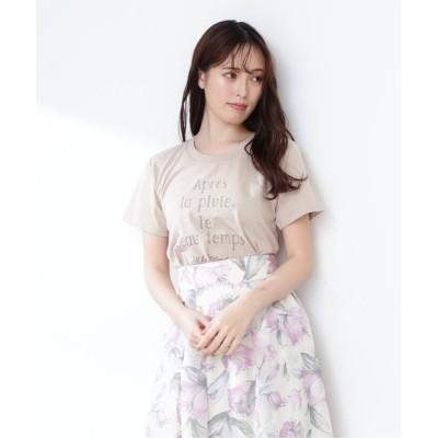 JILL by JILLSTUART / ◇フレンチロゴT WOMEN トップス > Tシャツ/カットソー