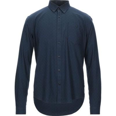 バブアー BARBOUR メンズ シャツ トップス patterned shirt Dark blue