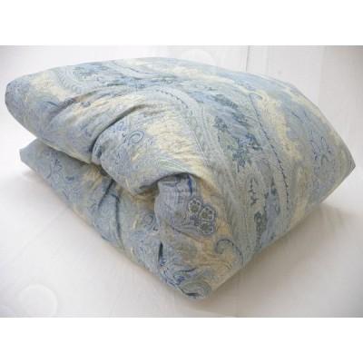 プレミアムゴールドラベル 羽毛布団 シングル ウクライナ産シルバーグースダウン95% 二層式 ツインキルト 1.2kg 80超長綿100% 増量 送料無料