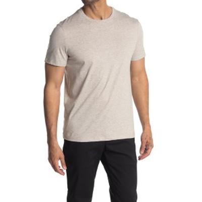 カルバンクライン メンズ Tシャツ トップス Crew Neck T-Shirt SANDSHELL HTR