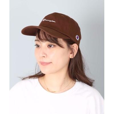LB/S / 【CHAMPION/チャンピオン】スクリプトローキャップ/ロゴ刺繍 MEN 帽子 > キャップ