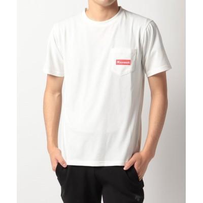 【マーモット】 Pocket Logo H/S Tee / ポケットロゴハーフスリーブティー メンズ ホワイト系 M Marmot