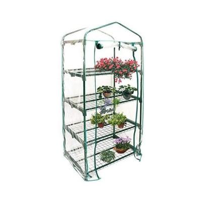 Yosoo-家庭用植物温室カバー-PVCビニールハウス-フラワースタンド用-69×49×160cm