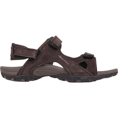 カリマー Karrimor メンズ サンダル シューズ・靴 Antibes Leather Walking Sandals Brown