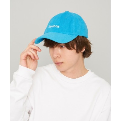 Karlas / 【Reebok/リーボック】ロゴ刺繍 パイルキャップ MEN 帽子 > キャップ