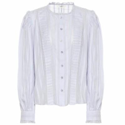 イザベル マラン Isabel Marant. Etoile レディース ブラウス・シャツ トップス Peachy cotton blouse Light Blue