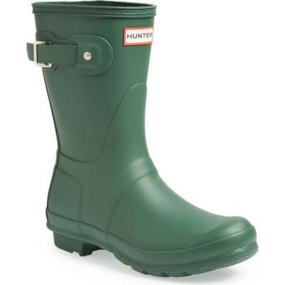 ハンター HUNTER レディース レインシューズ・長靴 シューズ・靴 Original Short Waterproof Rain Boot Hunter Green