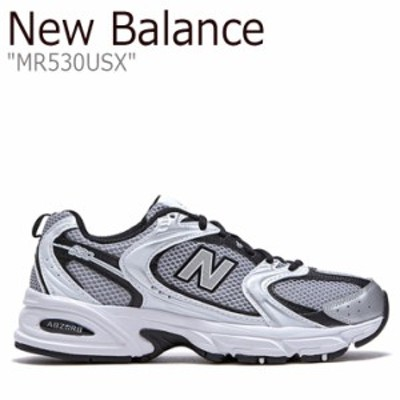 ニューバランス スニーカー New Balance メンズ レディース MR 530 USX SILVER シルバー NBPDBS138S MR530USX シューズ