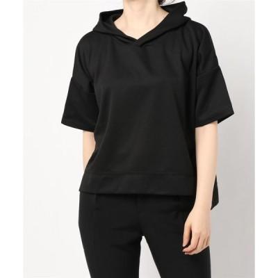 tシャツ Tシャツ 脇スリットポンチパーカー