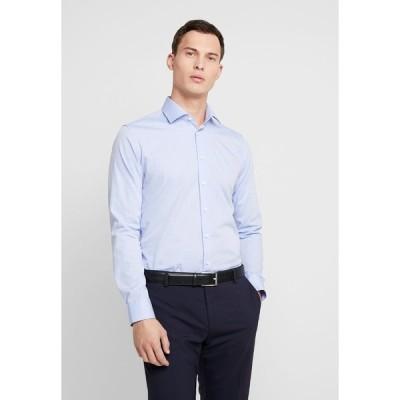 サイデンステッカー シャツ メンズ トップス SLIM FIT BUSINESS KENT - Formal shirt - light blue