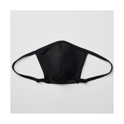 無地 (黒) マスク 日本製 GoTo 苦しくない おしゃれ 洗える 伸縮性抜群 調整可能 丈夫 耳が痛くない 春夏秋冬 おでかけ
