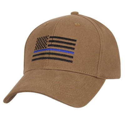 ROTHCO / ロスコ 4372 Thin Blue Line Flag Low Profile Cap-Coyote Brown