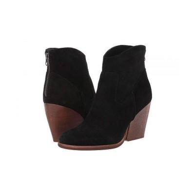 Kork-Ease コークイーズ レディース 女性用 シューズ 靴 ブーツ アンクル ショートブーツ Lapra - Black Suede