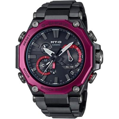 【カシオ】G-SHOCK MT-G 腕時計 メンズ ブラック&ボルドー 電波ソーラー Bluetooth ★ MTG-B2000BD-1A4JF【新品】