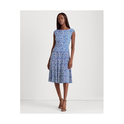 LAUREN RALPH LAUREN/ローレン ラルフ ローレン フローラル ジャージー ドレス 101ナチュラル 6