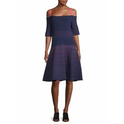 ジェイソンウー レディース ワンピース Cold-Shoulder A-Line Dress