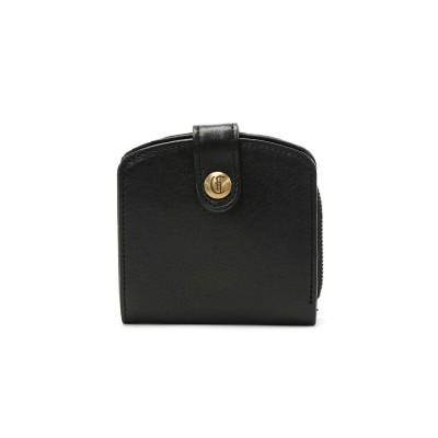 (CLEDRAN/クレドラン)クレドラン 財布 CLEDRAN 二つ折り財布 MIEL ミエル SMALL WALLET ミニ財布 二つ折り 小銭入れ 小さい CL-3190/レディース ブラック