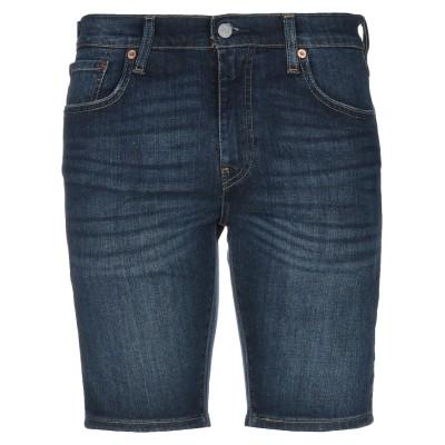 LEVI' S デニムバミューダパンツ ブルー 29 コットン 98% / ポリウレタン 2% デニムバミューダパンツ