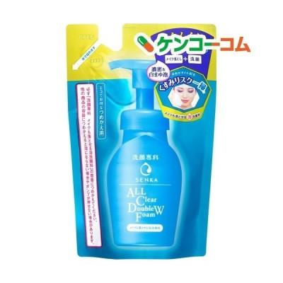 洗顔専科 メイクも落とせる泡洗顔料 つめかえ用 ( 130ml )/ 洗顔専科