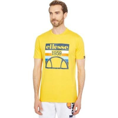 エレッセ Ellesse メンズ Tシャツ トップス Pirozzi T-Shirt Yellow