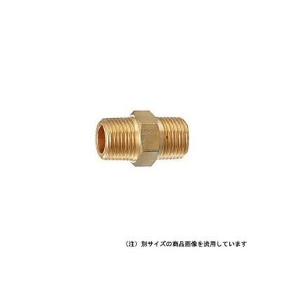 カクダイ 砲金ニップル 6128Y-20
