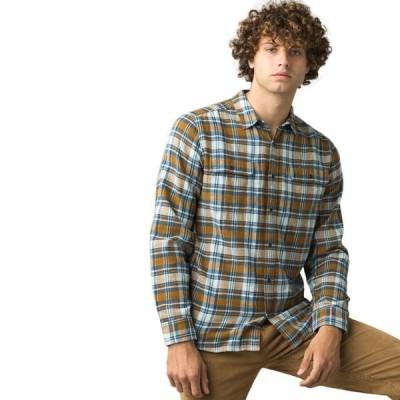 プラーナ メンズ シャツ トップス Westbrook Slim Flannel Shirt