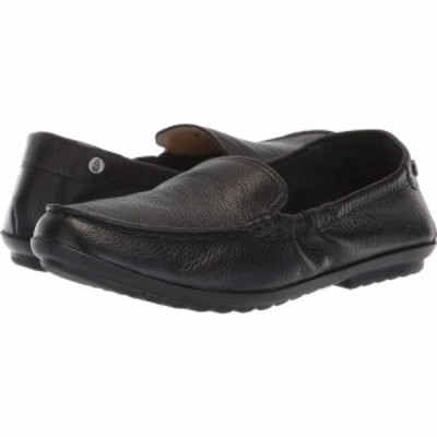 ハッシュパピー Hush Puppies レディース ローファー・オックスフォード シューズ・靴 Aidi Mocc Slip-On Black Leather