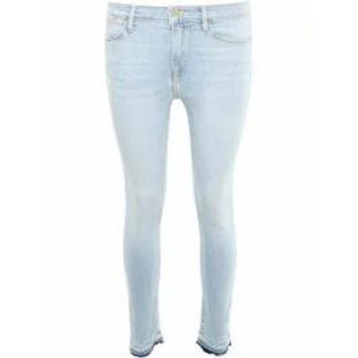 Frame レディースデニム Frame Stretch Le High Skinny Jeans PROSPECT|Blu