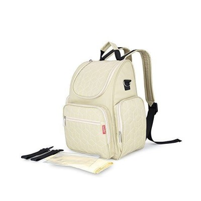 Akoko マザーズリュック マザーズバッグ 3way バックパック 防水 多機能 大容量 保温ポーチ付 ファッション