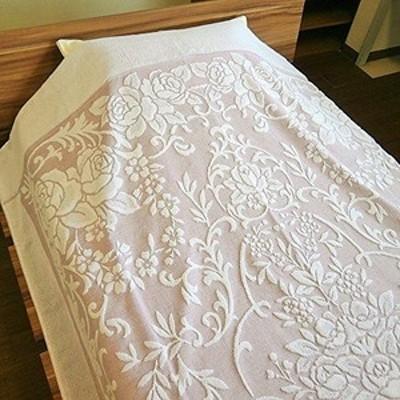 大きめサイズのタオルケット 今治産 シングル ワイドロングサイズ ピンク 日本製