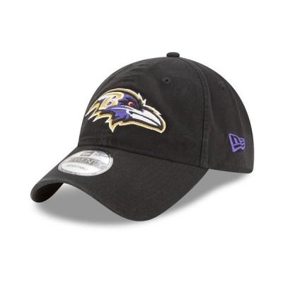 ニューエラ 帽子 アクセサリー メンズ Baltimore Ravens Core Classic 9TWENTY Cap Black