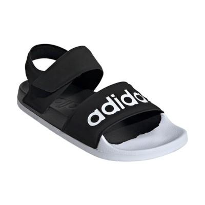 アディダス ADILETTE SANDAL(コアブラック/ フットウェアホワイト/ コアブラック・25.5cm) adidas ADJ-F35416-255 返品種別A