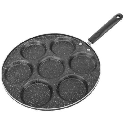 7モールドオムレツパン焦げ付き防止エッグクッカーパンパンケーキパンフライパンキッチンガジェットツール
