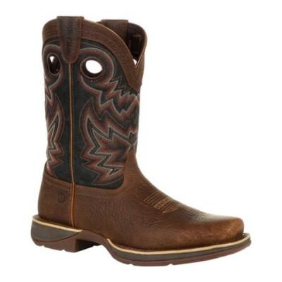 ヂュランゴ ブーツ&レインブーツ シューズ メンズ DDB0270 Rebel Western Boot (Men's) Chocolate/Black Eclipse Full Grain Leather/Faux