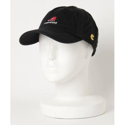 JEANS MATE / 【CONVERSE/コンバース】パックマンロゴキャップ CONVERSE × PAC-MAN 40周年記念コラボアイテム MEN 帽子 > キャップ