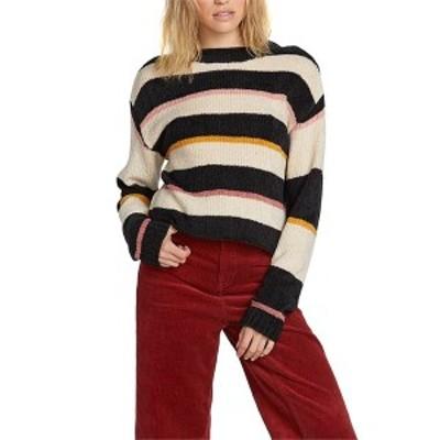 ボルコム レディース ニット・セーター アウター Volcom Madame Shady Sweater - Women's Black Combo