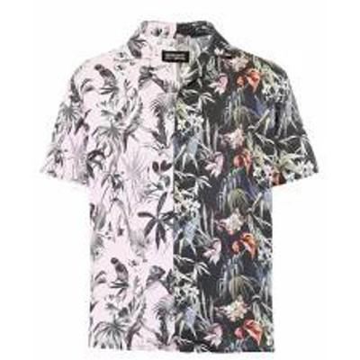 REPRESENT メンズシャツ REPRESENT Printed Shirt SPLIT Nero
