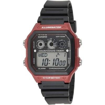 腕時計 カシオ メンズ 2724287933568 AE-1300WH-2A Casio Youth Mens Digital Grey Casual Quartz Casio