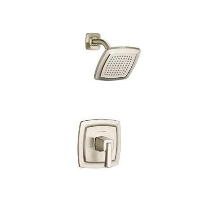 American Standard T353507.295 Townsend Bath and Shower Trim Kit with Water-Saving Shower Head, Satin Nickel 並行輸入品