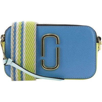 """マーク ジェイコブス Marc Jacobs レディース ショルダーバッグ バッグ """"The Snapshot"""" Crossbody Bag Light Blue"""
