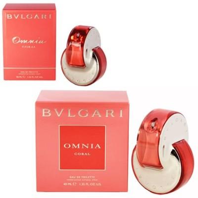 ブルガリ オムニア コーラル オーデトワレ スプレータイプ 40ml BVLGARI 香水 OMNIA CORAL