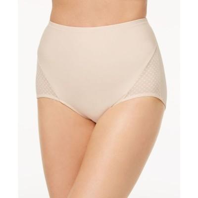 バリ Bali レディース インナー・下着 2点セット Passion for Comfort 2 pack Firm Control Brief Underwear DFX008 Soft Taupe