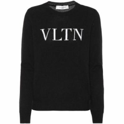 ヴァレンティノ ニット・セーター Cashmere and wool sweater Nero
