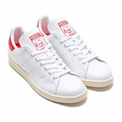 アディダス adidas スニーカー スタンスミス (FOOTWEAR WHITE/OFF WHITE/SCURLET) 20SS-I