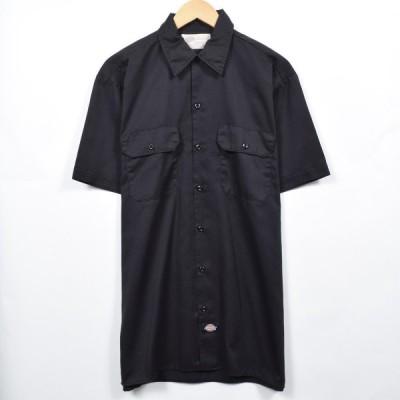 ディッキーズ Dickies 半袖 ワークシャツ メンズL /eaa038857