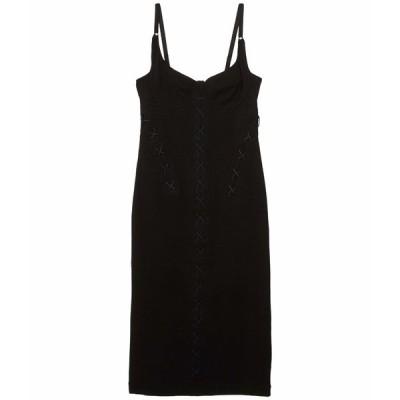 キキデモントパーネス ワンピース トップス レディース Dress w/ Corset Lacing Black/Midnight Blue