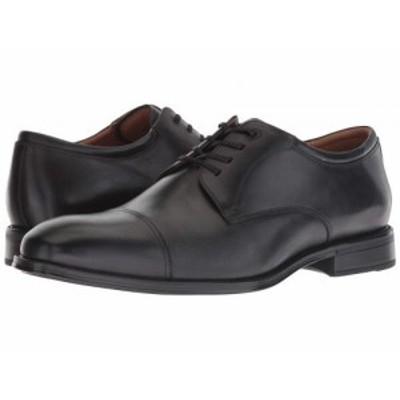 Florsheim フローシャイム メンズ 男性用 シューズ 靴 オックスフォード 紳士靴 通勤靴 Amelio Cap Toe Oxford Black Smooth【送料無料】