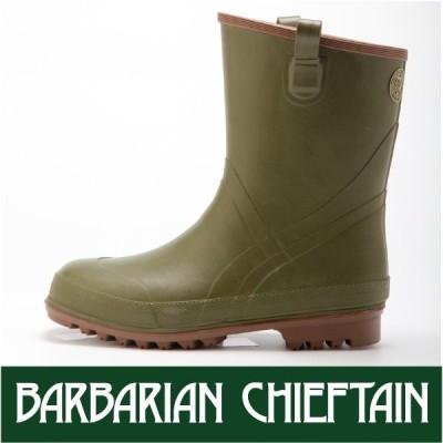 長靴 バーバリアンチーフテンBCFS-03 BARBARIAN CHIEFTAIN ミドル丈 ラバーブーツ アウトドア おしゃれ 弘進 KOHSHIN