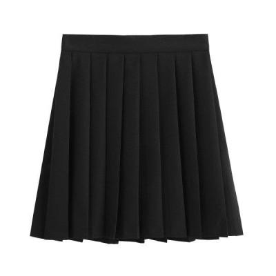 プリーツスカート チェック柄 ミニスカート キュロット